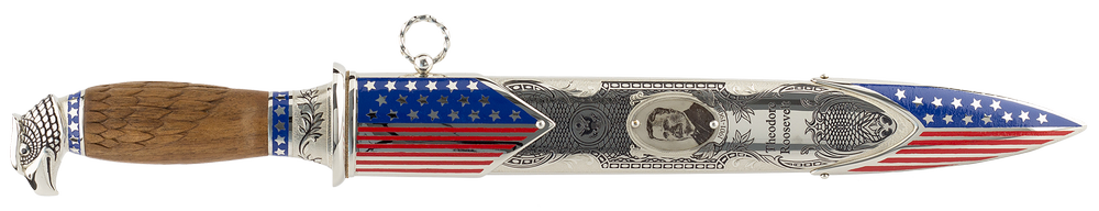 "handmade art Dagger ""Theodor Roosevelt"""