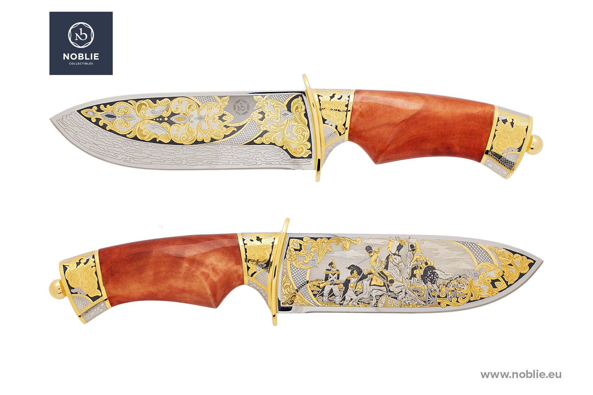 "collectible knife ""Battle of Waterloo"""