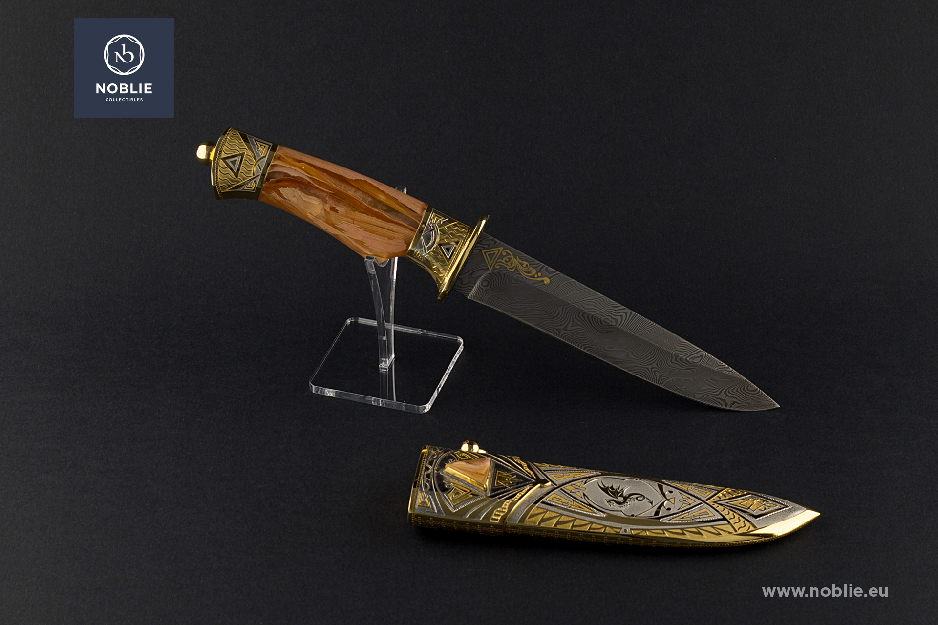 "collectible blade ""The fire"""