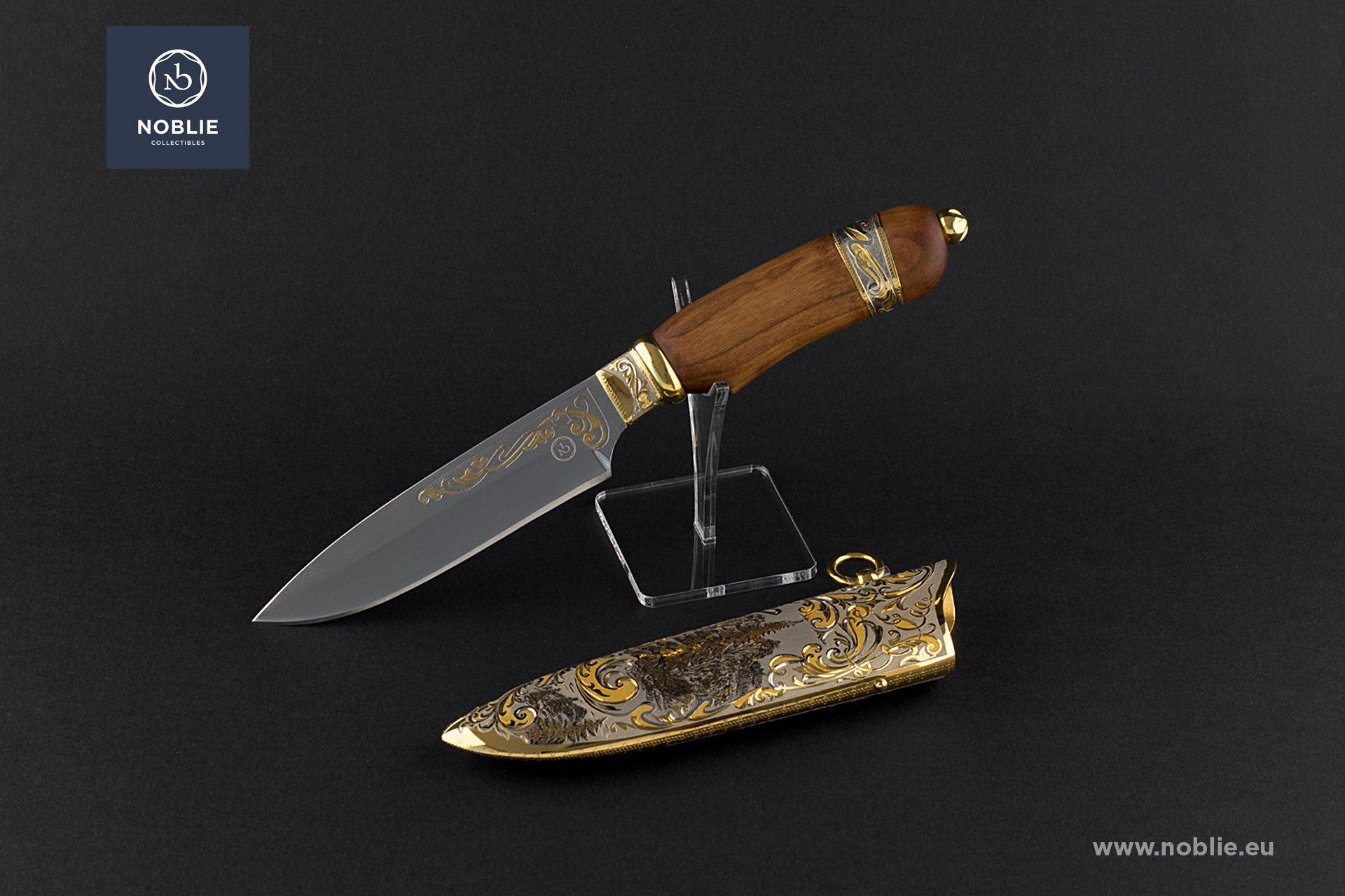 """knife """"Splendor of the forest. The deer"""""""