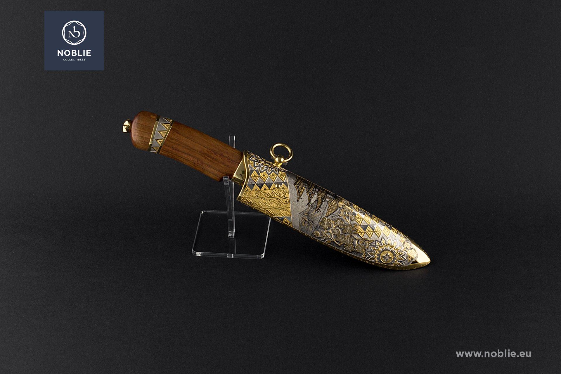 "handmade custom knife ""Fuji-san"""