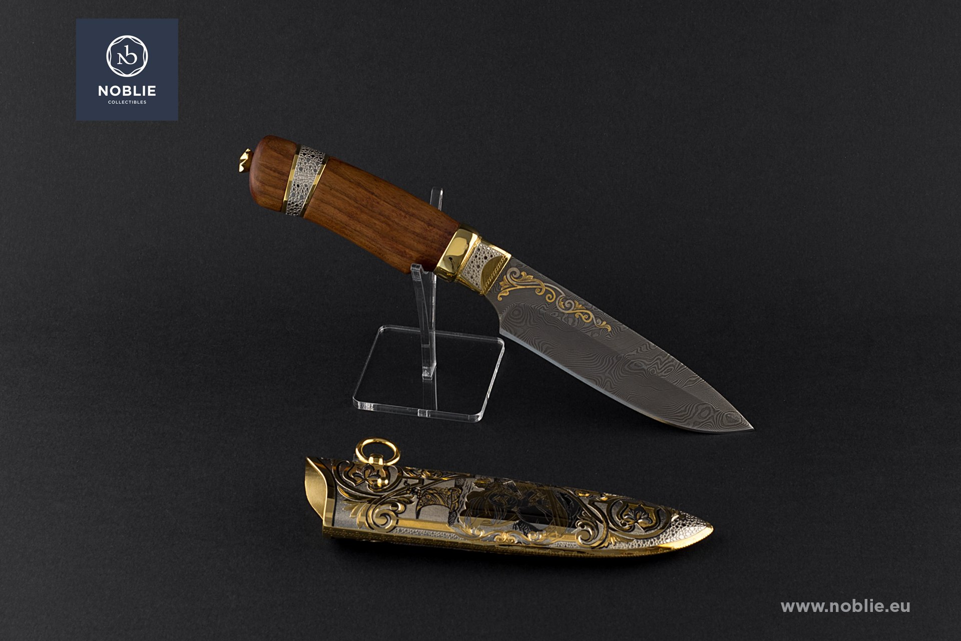 "engraved knife ""The legend of Sadko"""