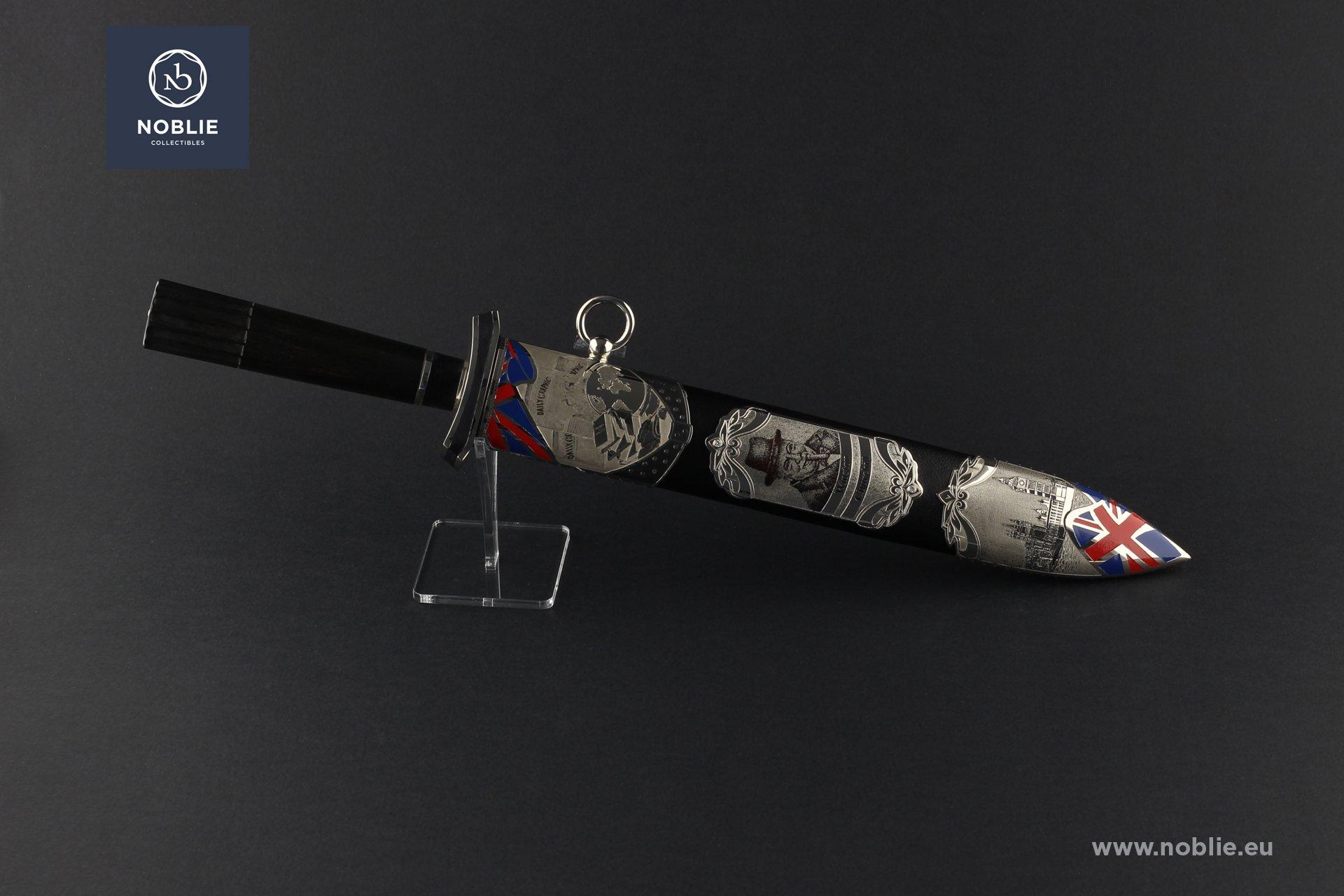 """art Dagger """"The Greatest Briton. Winston Churchill"""""""
