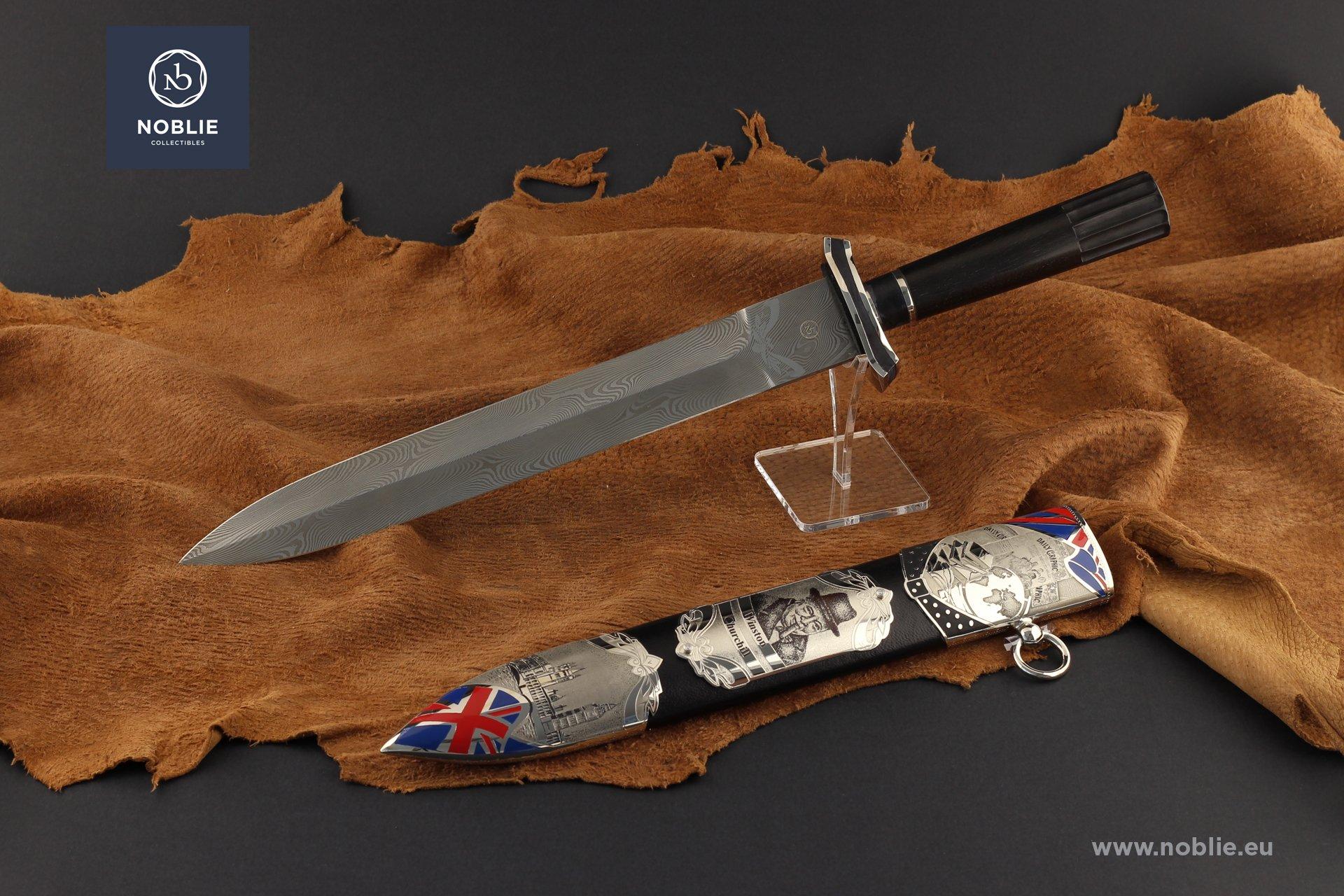 """Dagger """"The Greatest Briton. Winston Churchill"""""""