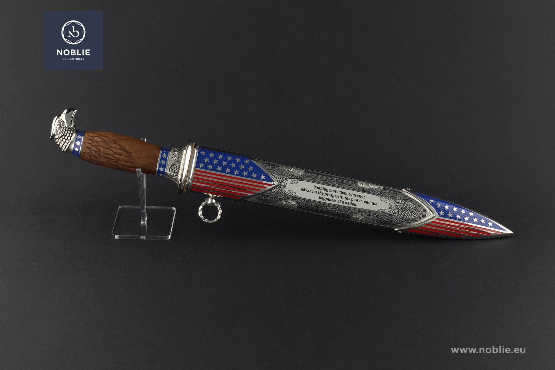 "handmade art Dagger ""Thomas Jefferson"""