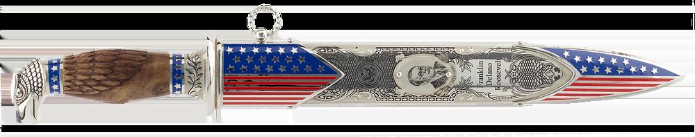 """engraved Dagger """"Franklin Delano Roosevelt"""""""
