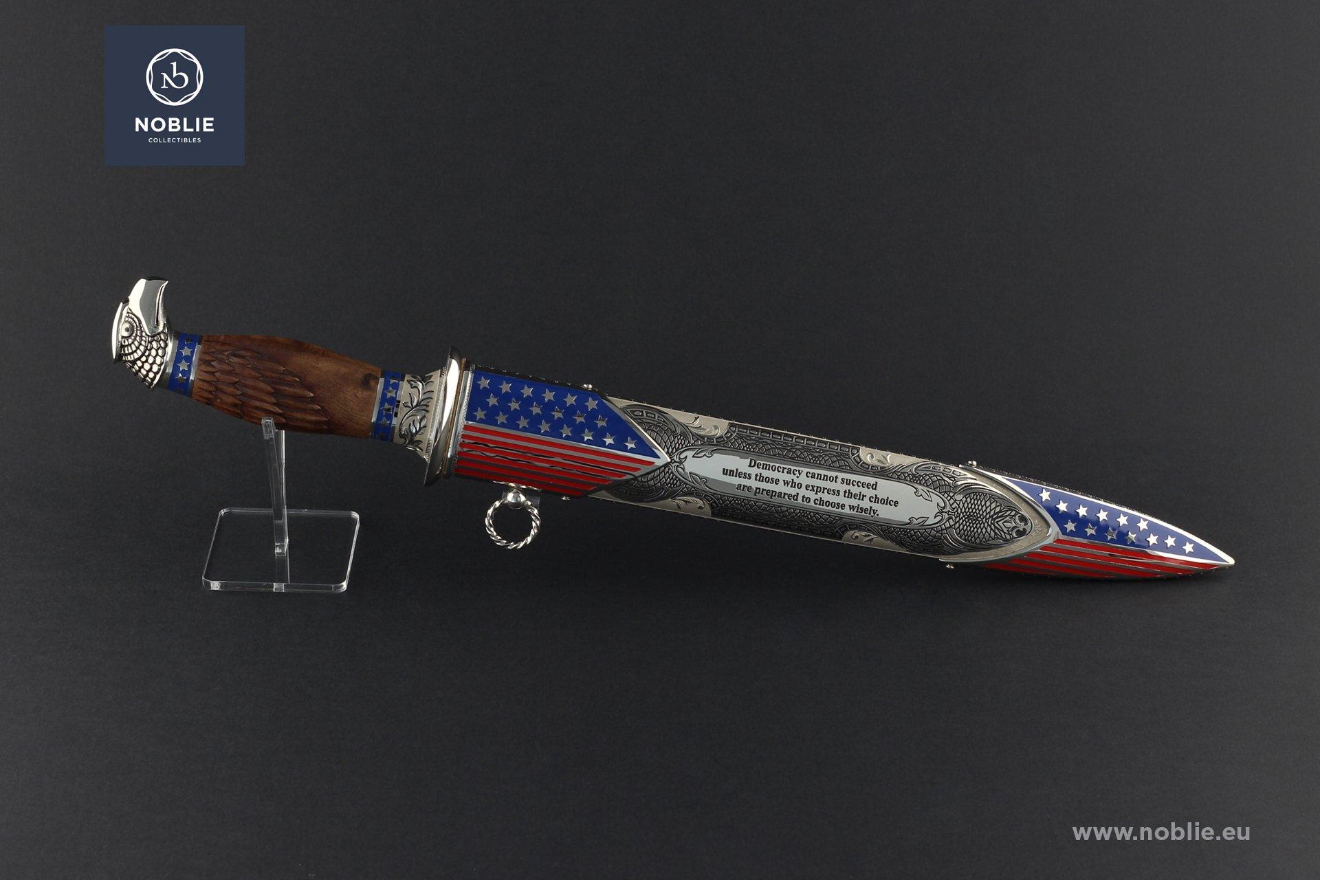 """handmade art Dagger """"Franklin Delano Roosevelt"""""""