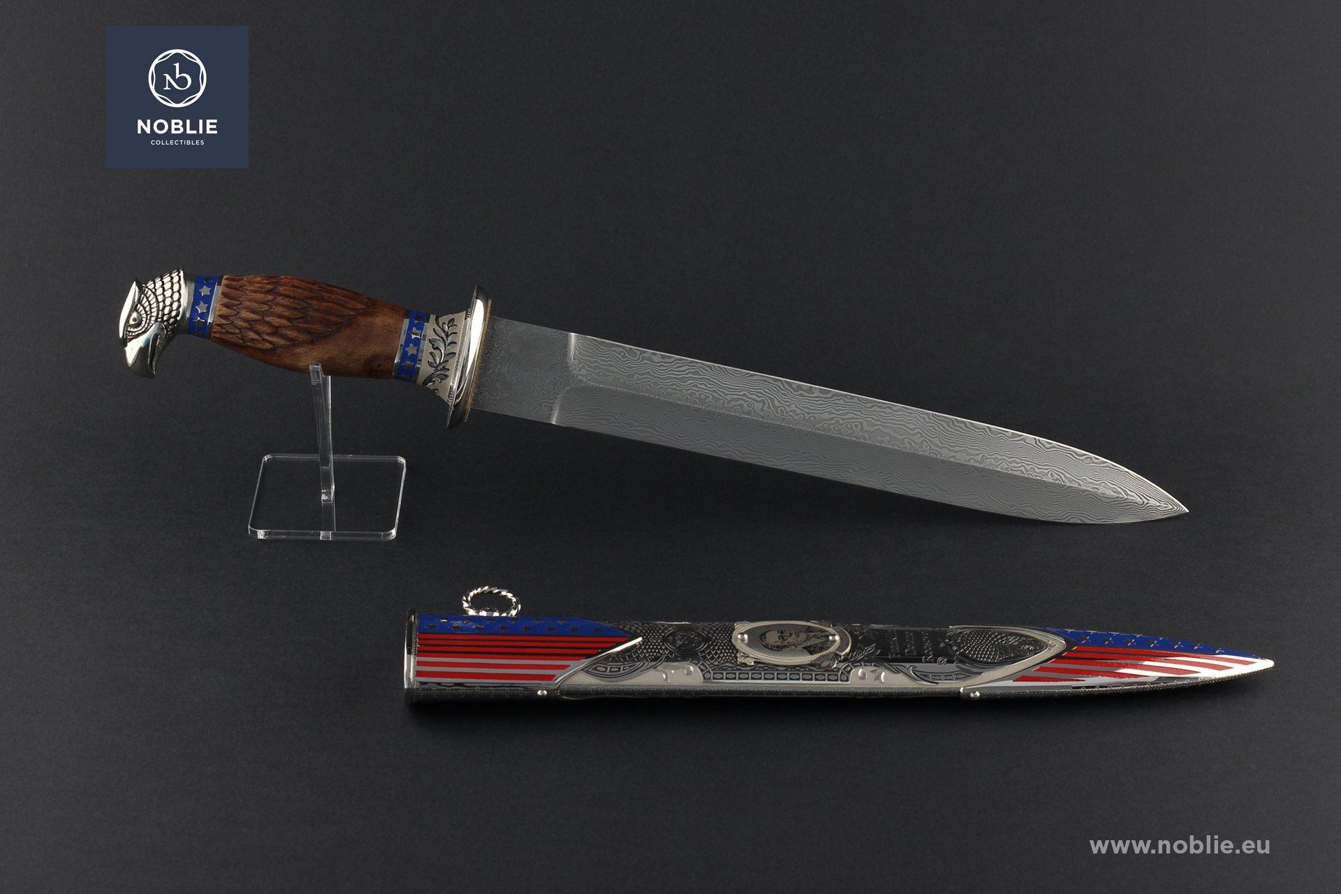 "handmade custom Dagger ""Franklin Delano Roosevelt"""