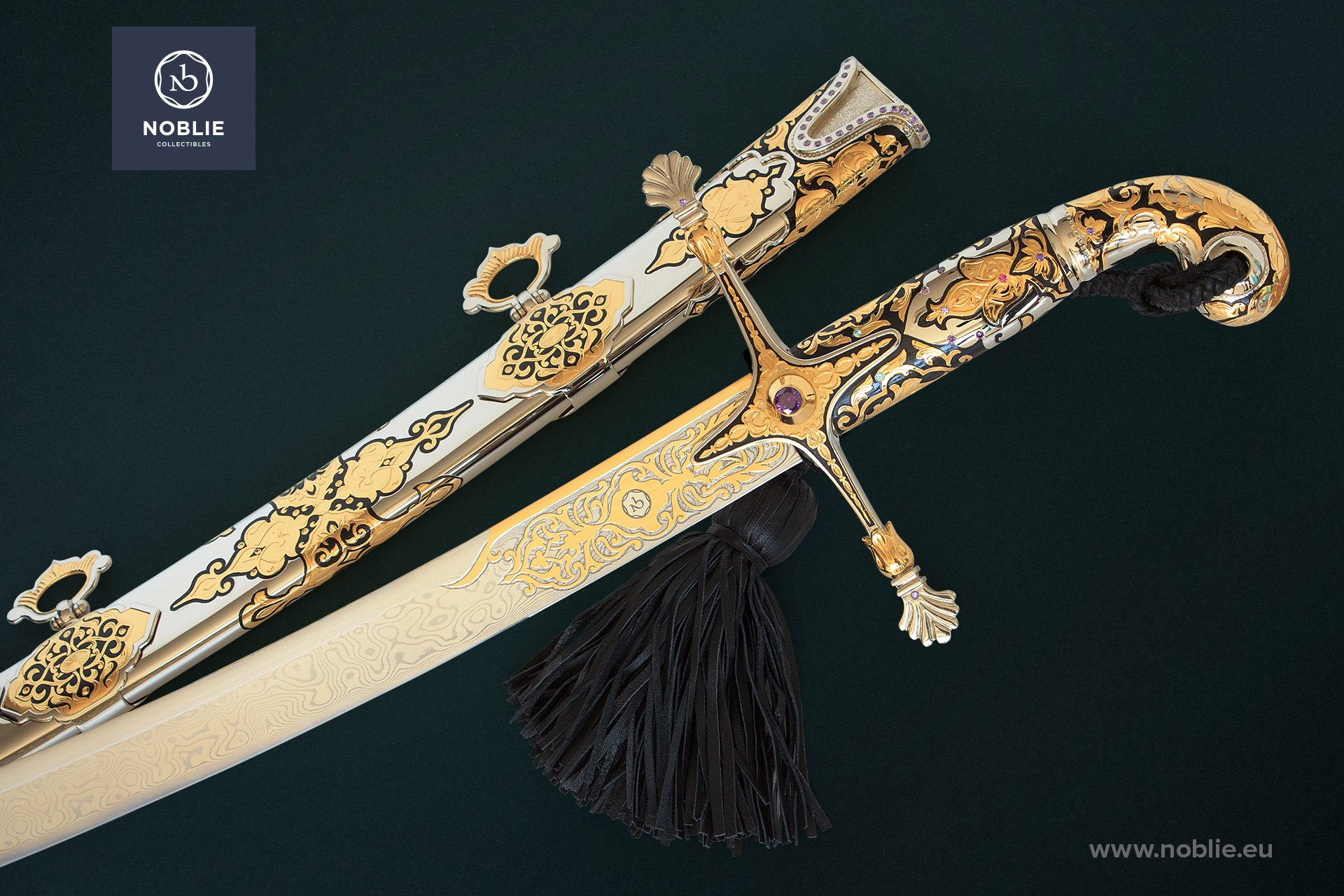 "Engraved ceremonial saber ""Karabela"""