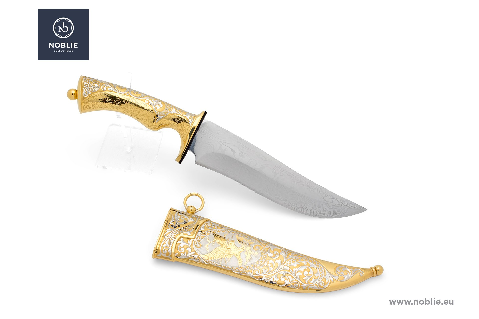 "hunting knife ""The hawk's world"""