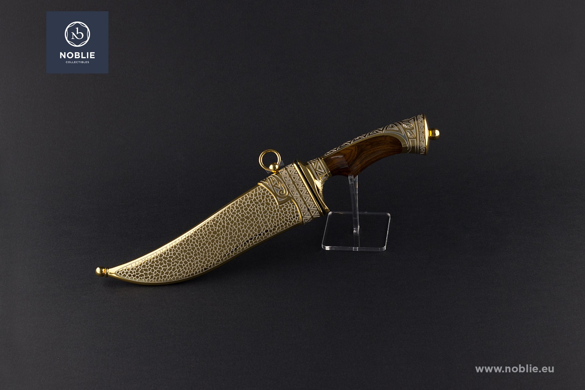 """handmade custom knife """"The leopard hiding"""""""