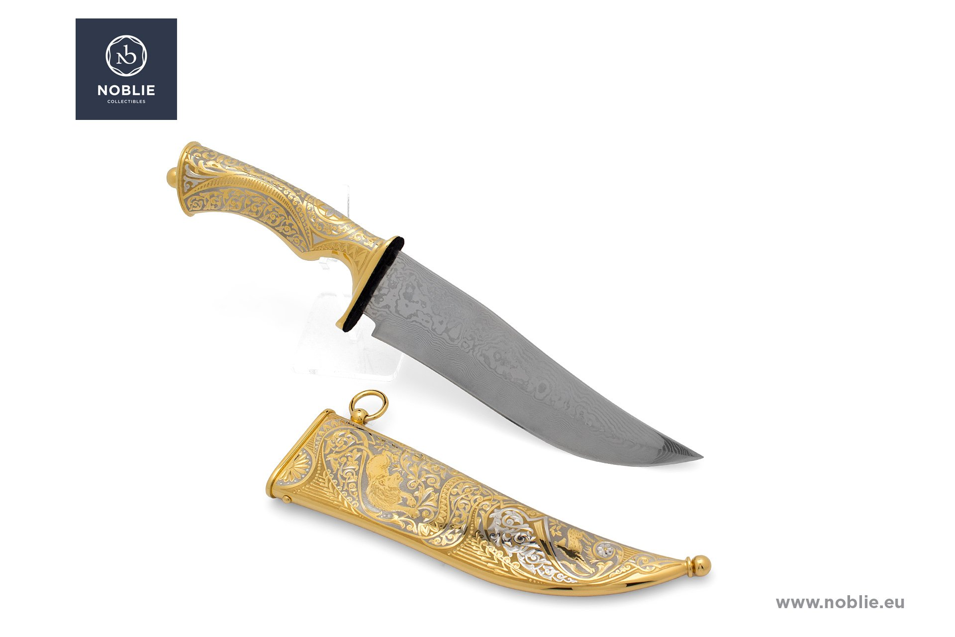 "collectible blade ""On the road of lion"""