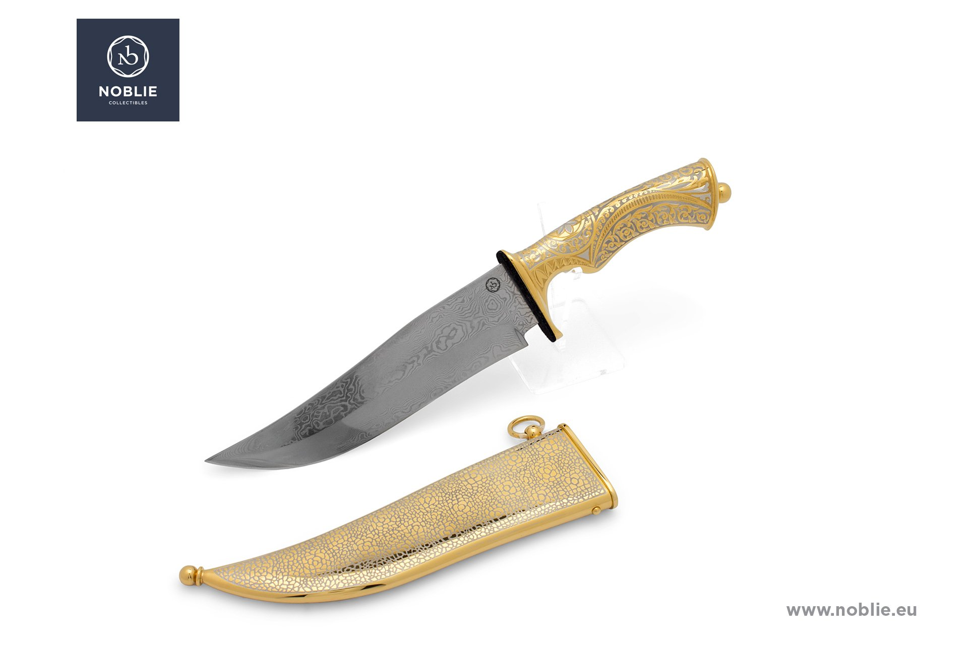 "collectible knife ""On the road of lion"""