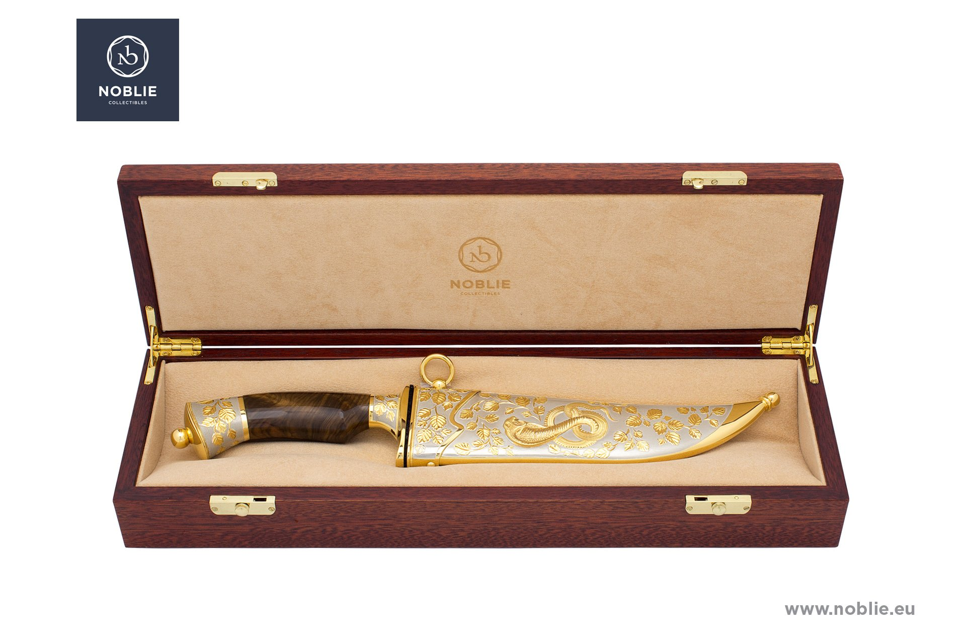 """collectible knife """"Poisonous ones. The cobra and the ivy"""""""