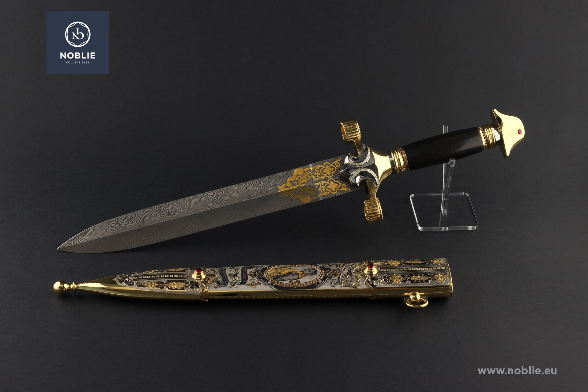 """engraved dagger """"Le Grand Emperuer. Napoleon Bonaparte"""""""