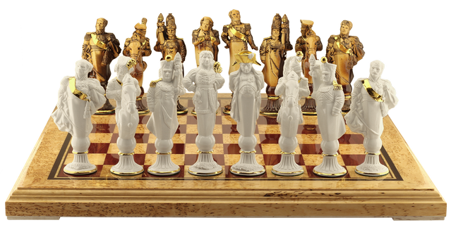 "Chess set ""The battle of Borodino"""