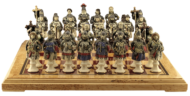 "Chess set ""The Battle of Grunwald"""