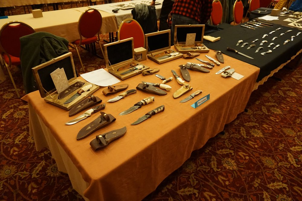 The 21st C.I.C. knife show on 2-3th December 2017