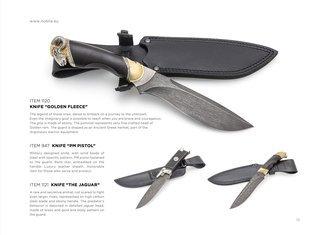 Collectible hunting knives
