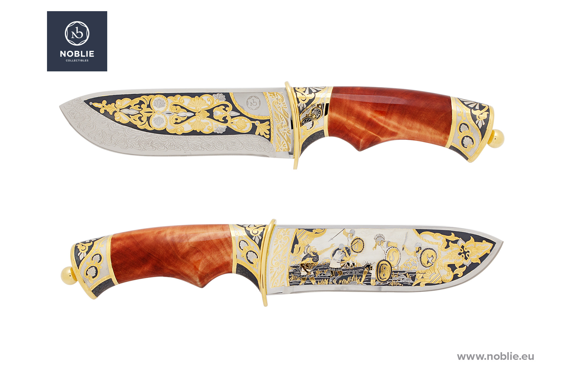 "Knife ""The Siege of Syracuse"""