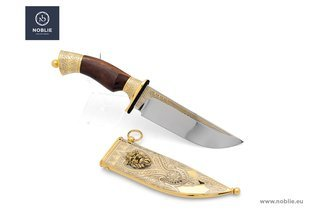 "Collectible knife ""The lion's throne"""
