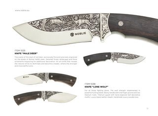 Engraved knives 2017