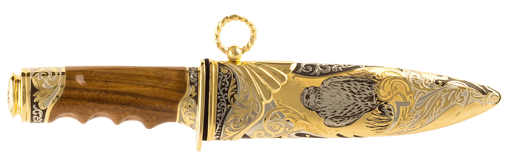 """Collectible hunting knife """"Surveillance. The hawk"""""""