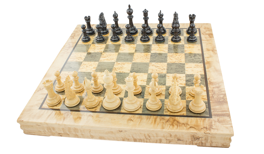 "Chess set ""Peaceful battle"""