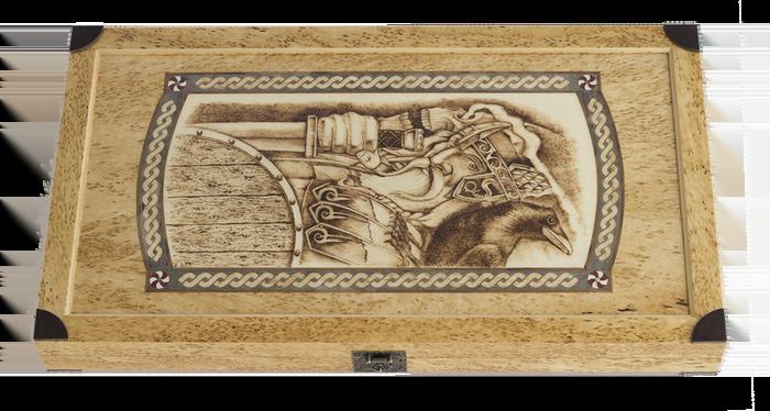 "Backgammon set ""Viking Trip"""