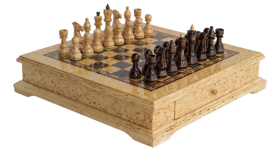 """Chess set """"Hidden strategy"""""""