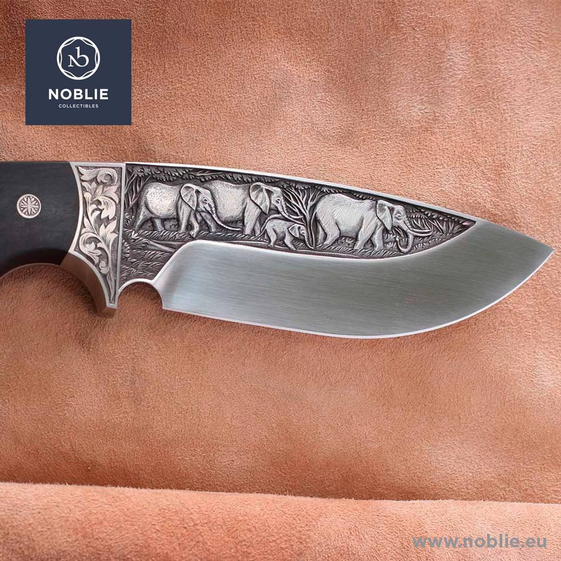 custom knife engraving