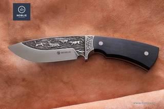 Knife engraving, custom knives