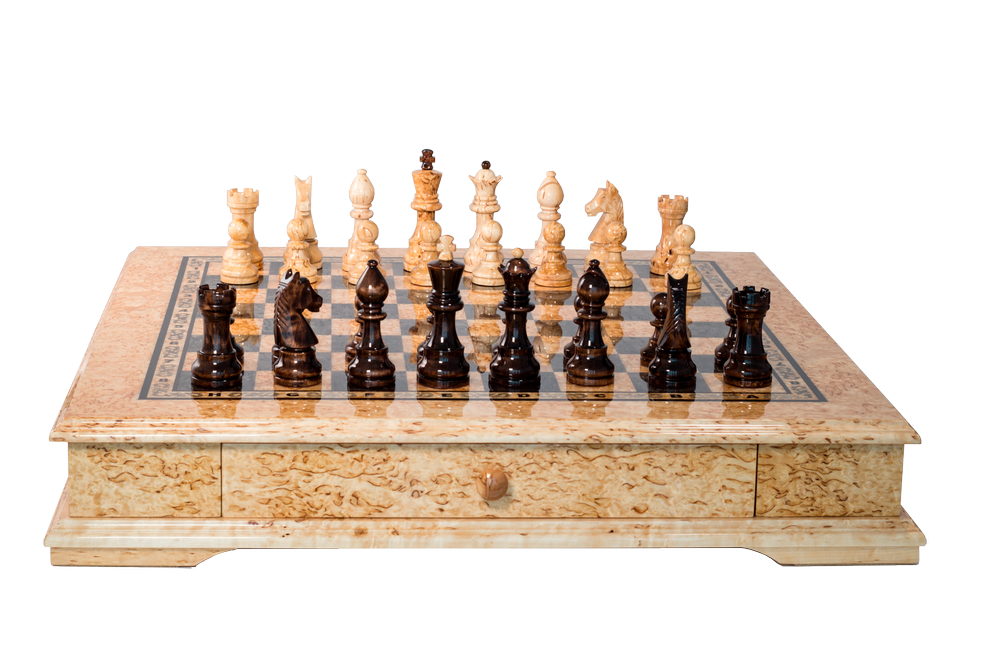 Exclusive collection chess set