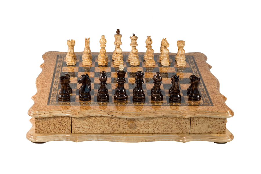 "Exclusive collection chess set ""Figurative"""