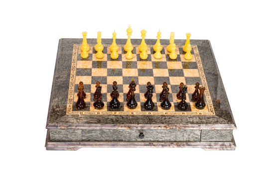 """Amber chess """"Transparency"""""""