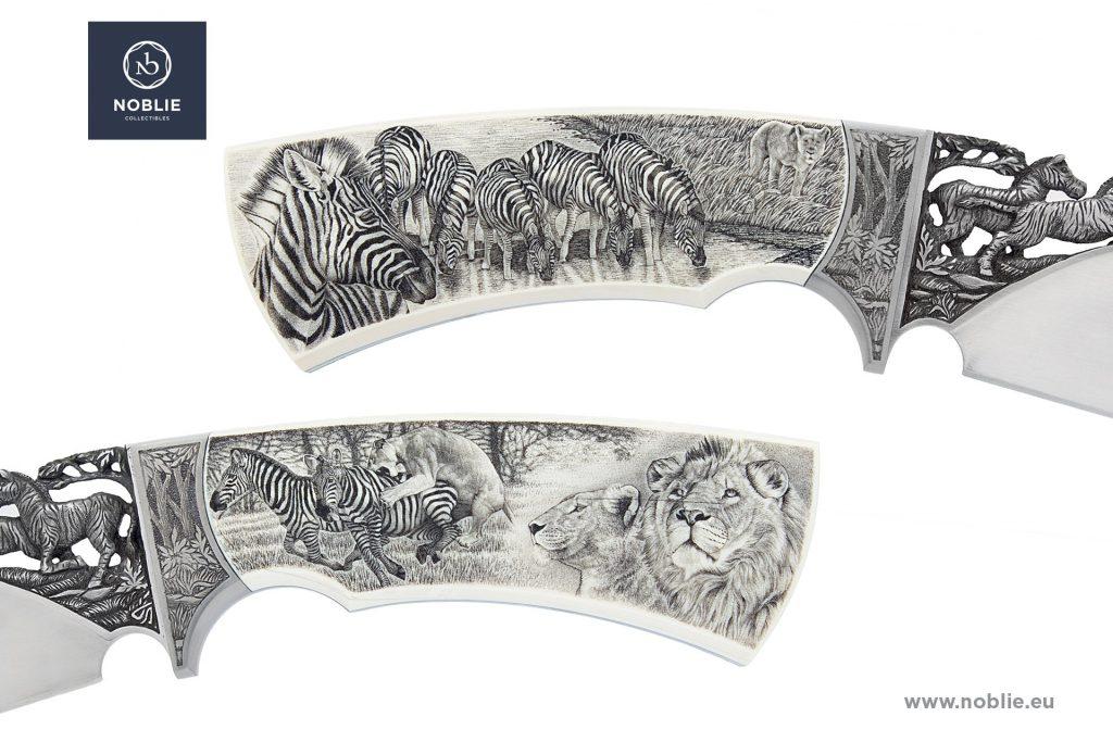 custom knife scrimshaw
