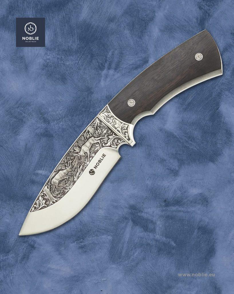 handmade engraved knife